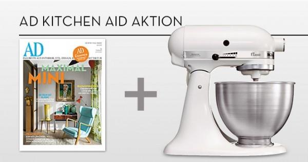 ad mit kitchen aid küchenmaschine günstig abonnieren