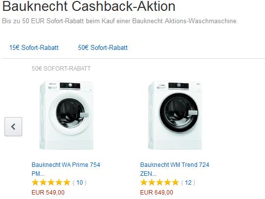 amazon waschmaschine bauknecht