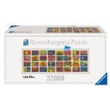 Ravensburger Keith Haring Double Retrospect 32.000 Teile Puzzle (544x192cm) - größtes Puzzle der Welt günstig kaufen