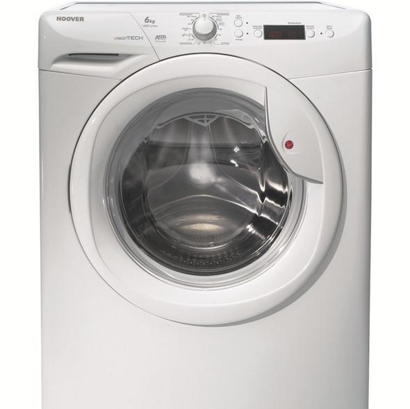 hoover vt614d23 waschmaschine a 6kg 1400 u min f r 289 99. Black Bedroom Furniture Sets. Home Design Ideas