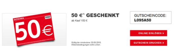 Xxxl Shop 50 Gutschein Mbw 150 Monsterdealzde