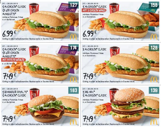 Mcdonalds coupons 2019 februar