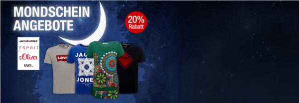 Für Auf 20 T Angebote Mondschein Kaufhof Galeria Rabatt Shirts qXT886