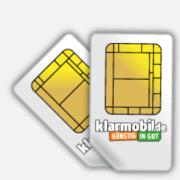 *WIEDER DA* 2x Klarmobil Sim-Karte inkl. 2€ Guthaben + 2x 15€ Amazon Gutschein oder viele andere Prämien für effektiv nur 3,90€