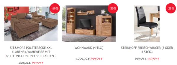 Neckermann 17 Rabatt Auf Möbel Und Wohntextilien Kostenloser