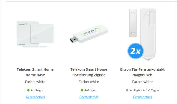 beendet telekom smart home home base 2 t r fensterkontakte zigbee stick wert 100. Black Bedroom Furniture Sets. Home Design Ideas