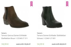 Tamaris Genova Damen Echtleder Stiefeletten für 34,99