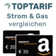 Strom/Gasanbieter wechseln und jeweils 30€ Amazon.de Gutschein erhalten
