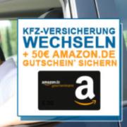 KFZ-Versicherung abschließen und 50€ Amazon.de-Gutschein