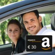 KFZ-Versicherung abschließen und 30€ Amazon.de-Gutschein