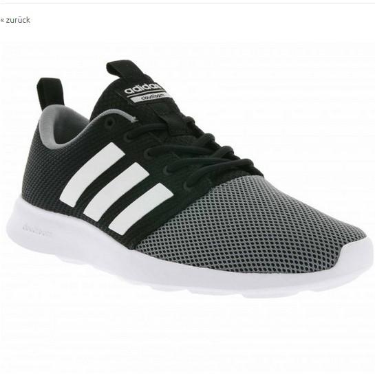 adidas neo cloudfoam Swift Racer Herren Sneaker in schwarz