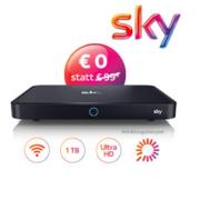 *KNALLER* Sky Entertainment + Bundesliga + Sport + Cinema + HD inkl. Sky+ Pro Receiver für nur 29,99€/Monat