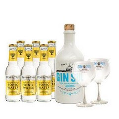 gin sul 6x fever tree tonic water inkl 2 original. Black Bedroom Furniture Sets. Home Design Ideas