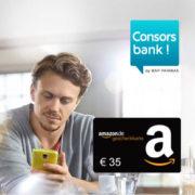 Consorsbank Tagesgeldkonto eröffnen und 35€ Amazon.de Gutschein erhalten + 0,8% Zinsen