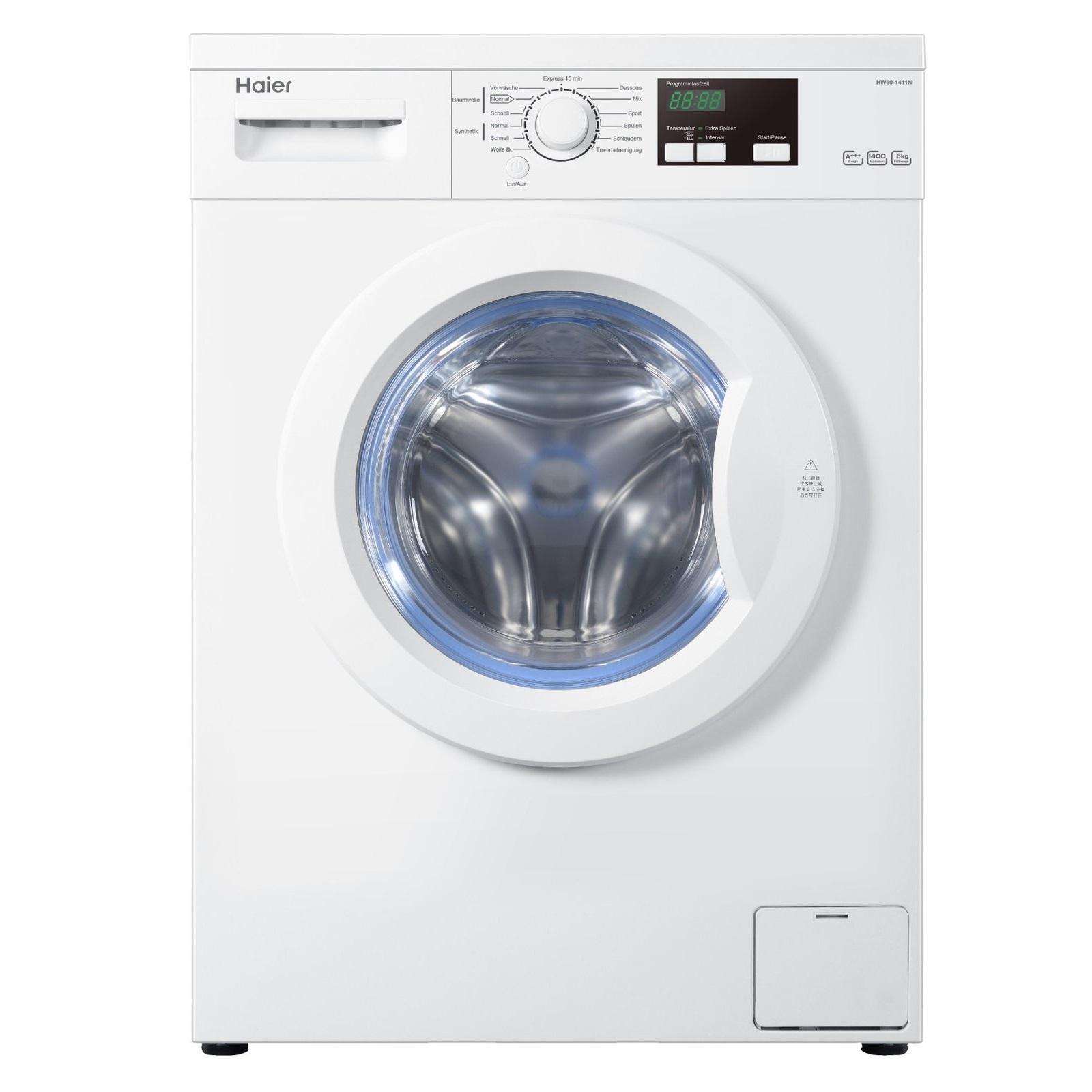 tipp 2x haier hw70 1411n waschmaschine 7 kg 1400 u min a f r 369. Black Bedroom Furniture Sets. Home Design Ideas