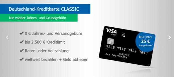 tipp dauerhaft kostenlose deutschland kreditkarte mit 25. Black Bedroom Furniture Sets. Home Design Ideas