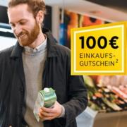 *SUPER* Commerzbank: 100€ REWE-Einkaufsgutschein kostenlos zu jeder Kontoeröffnung + KWK-Prämie