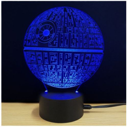 Star Wars Creative 3d Led Lamp Fur 4 60 Monsterdealz De