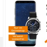 *KNALLER* mobilcom-debitel Comfort Allnet (Vodafone [oder Telekom], 2 GB, Allnet-Flat) inkl. Samsung Galaxy S8 + Samsung Gear S3 für 31,99€ / Monat