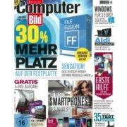 Jahresabo (26 Ausgaben) Computer Bild mit DVD für effektiv nur 16,50€ (Amazon-Gutschein)