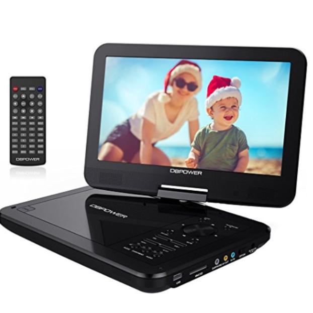 tragbarer dvd player 10 5 mit schwenkbaren bildschirm f r. Black Bedroom Furniture Sets. Home Design Ideas