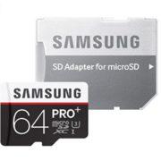 Samsung Pro Plus 64GB microSDXC Speicherkarte für 25€