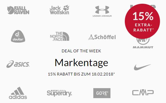 Engelhorn: 15% Rabatt auf ausgewählte Marken wie Nike oder