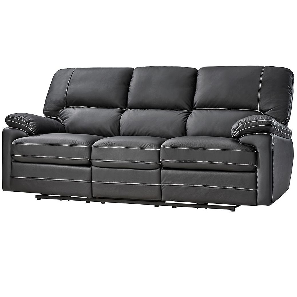 echtleder dynamic24 3 sitzer sofa f r 299. Black Bedroom Furniture Sets. Home Design Ideas