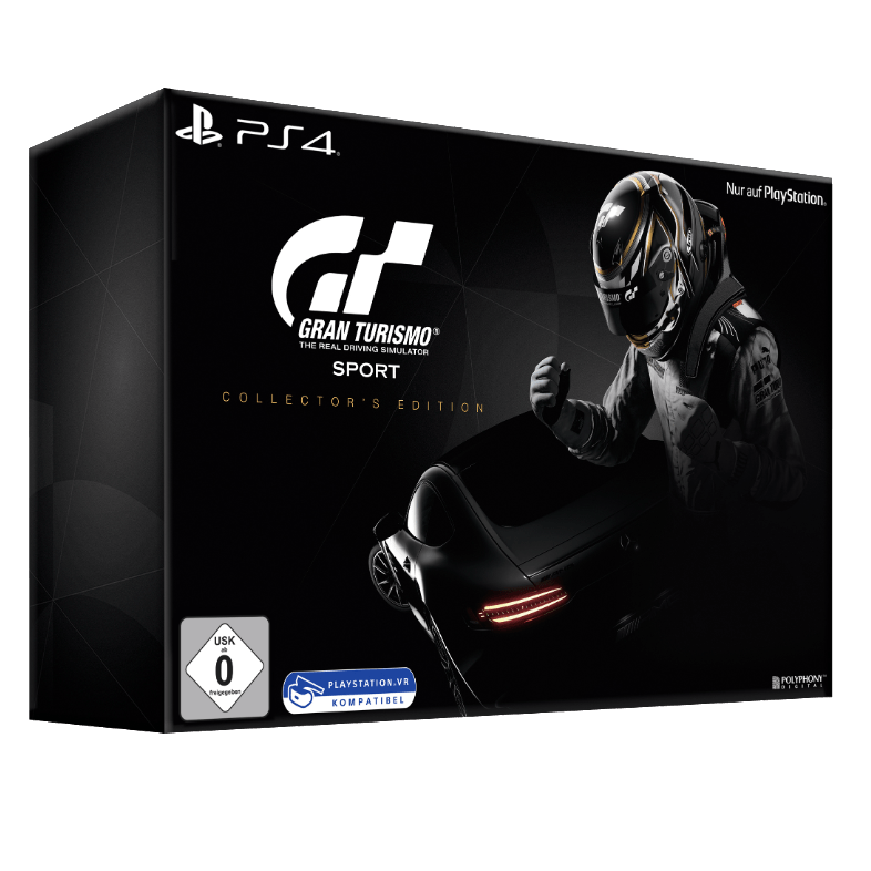 tipp gran turismo sport collector 39 s edition ps4 f r. Black Bedroom Furniture Sets. Home Design Ideas
