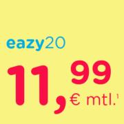 *TIPP* Eazy Festnetz-Internet im Unitymedia-Kabelnetz für 11,99€/Monat (20Mbit/s) oder 16,99€/Monat (50Mbit/s)
