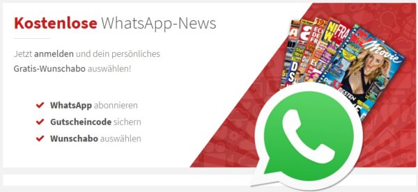 WhatsApp-Newsletter Banner