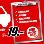 *TOP* MediaMarkt Lieferluxus: Für 19€ für Haushaltsgroßgeräte ab 499€ Bestellwert