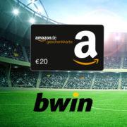 *KNALLER* bwin: 10€ einsetzen + 20€ Amazon.de Gutschein sichern + 100% Bonus (Neukunden)