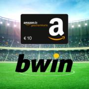 Bei bwin 10€ einsetzen + 20€ Amazon.de Gutschein sichern + 100% Bonus (Neukunden)