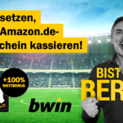 bwin 10€ einsetzen + 20€ Amazon.de Gutschein sichern (Neukunden) + Jokerwette
