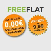Allnet-Flats + 2GB (bis 4GB) bereits ab 9,99€/Monat (Telekom oder Vodafone-Netz; mtl. kündbar) bei Freenetmobile *OHNE Anschlusspreis*