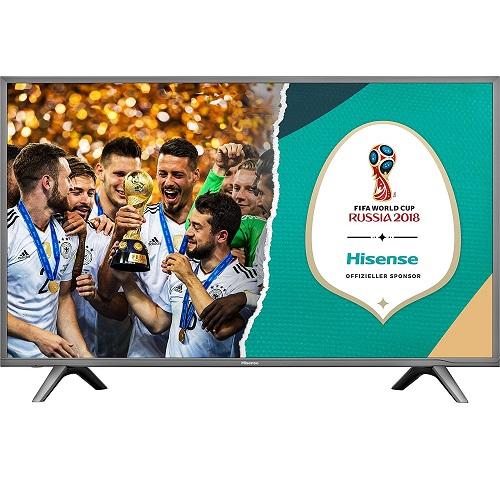 hisense h49nec5605 led fernseher mit 49 4k und smart tv f r 399 inkl versand. Black Bedroom Furniture Sets. Home Design Ideas