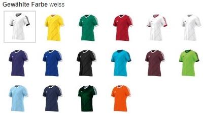 11teamsports: adidas Tabela 14 Trikot in verschiedenen