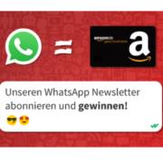 *ENDET HEUTE* Whatsapp/Telegram/Insta/Messenger abonnieren und Amazon.de Gutscheine gewinnen + garantiert kostenloses Jahresabo!