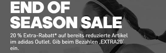 63e06687876017  TOP  ADIDAS  End of Season Sale mit bis zu 50% Rabatt + 20% Extra-Rabatt  auf bereits reduzierte Artikel!