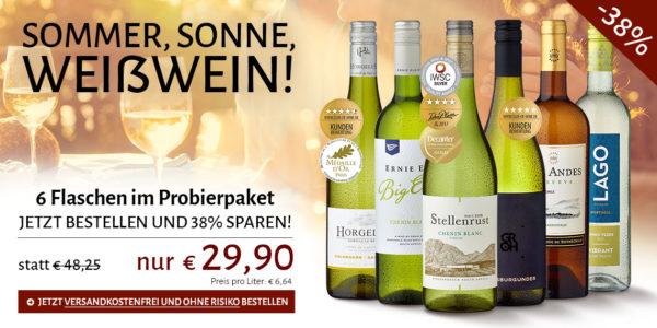 Club Of Wine 6 Flaschen Weißwein Für 2990 Inklusive Versand