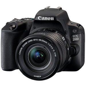 tipp canon eos 200d spiegelreflexkamera wlan touchscreen nfc 18 55 mm objektiv ef s is. Black Bedroom Furniture Sets. Home Design Ideas