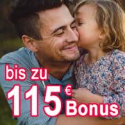 ERGO Direkt: Risikolebensversicherung ab 2,75€/Monat + 115€ Bonus oben drauf