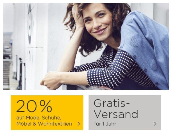 BAUR: 20% Rabatt auf Mode, Schuhe, Möbel & Wohntextilien + 1 ...