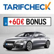 Tarifcheck: KFZ-Versicherung wechseln, bis zu 850€ sparen & 60€ Amazon.de-Gutschein kassieren!