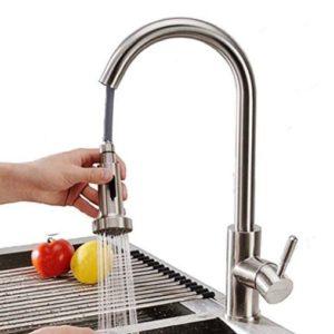 Homelody 360° drehbar Wasserhahn Küche Armatur ausziehbar ...
