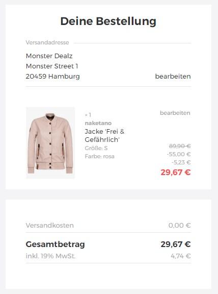 a269094c487121 AboutYou  Großer Naketano-Sale mit bis zu 50% Rabatt + 20% Extra ...