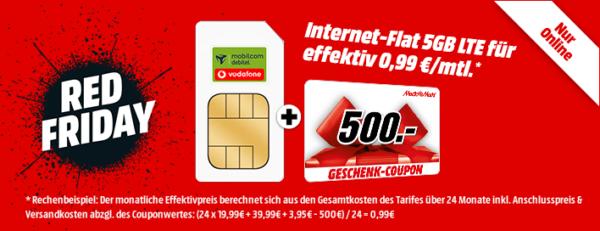 Knaller Vodafone 5 Gb Lte Bis 500 Mbit S Oder Telekom 4 Gb Lte