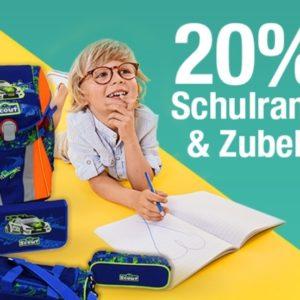 Galeria Kaufhof 20% auf Schulranzen & Zubehör