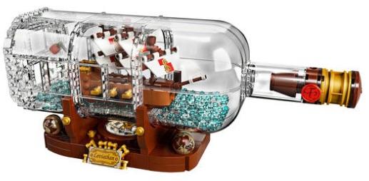 Lego Ideas Schiff In Der Flasche 21313 Für 5524 Bei Galeria